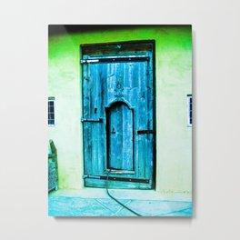 Door 7 Metal Print