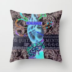 Reality Throw Pillow