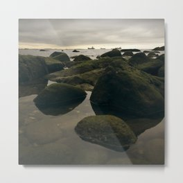 Rocky Shore and the Sea 02 Metal Print