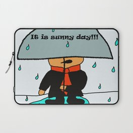 It is sunny day by Lu Laptop Sleeve