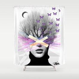 BUTTERFLIGHT Shower Curtain