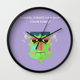 Let me be 'Frank' with you! Wall Clock