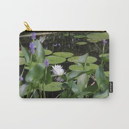 Lilly Pads in the Sun Carry-All Pouch