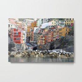 All About Italy. Piece 8 - Riomaggiore Metal Print