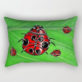 Ladybug Rectangular Pillow