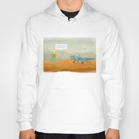 le petit prince Hoodies featuring  Le Petit Prince  by Ia Re