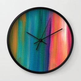 Abstract Acrylic Wall Clock