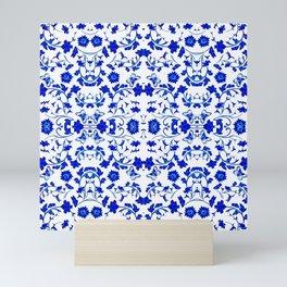 Velasco Blue - 2 Mini Art Print