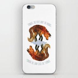 We Are Wild. iPhone Skin