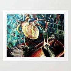 Hurricane Heartstopper Art Print