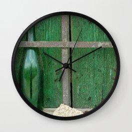 Empty Bottle Wall Clock