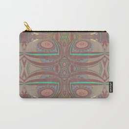Pallid Minty Pattern 4 Carry-All Pouch
