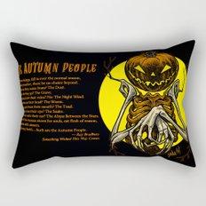 Autumn People 7 Rectangular Pillow