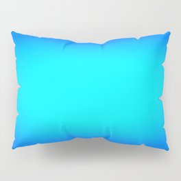 Turquoise. Bright Blue Pillow Sham