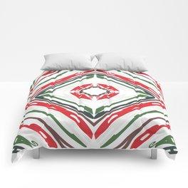 KALEIDOSCOPE WORDS OF CHRISTMAS Comforters