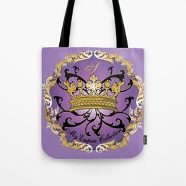 My Empire Collection Summer Set Purple Crown Tote Bag