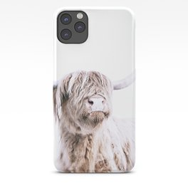 HIGHLAND CATTLE PORTRAIT iPhone Case