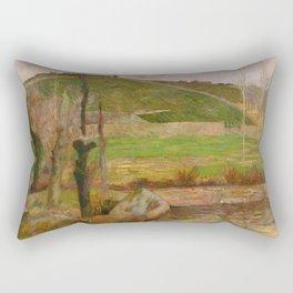 Landscape near Pont-Aven Rectangular Pillow