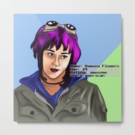 Ramona Metal Print