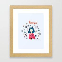 Happy Day Framed Art Print