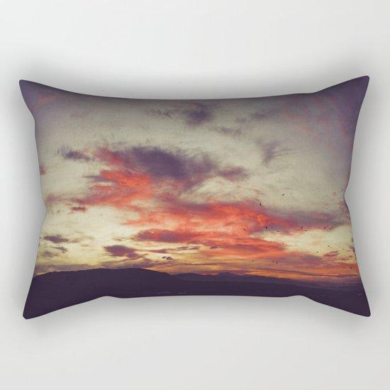Supersaturated Dawn Rectangular Pillow