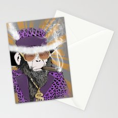 Pimp-Panzee Stationery Cards