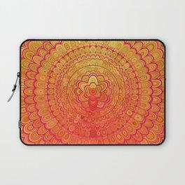 Aztec Flower Mandala Laptop Sleeve