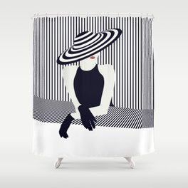 Riviera glamour Shower Curtain