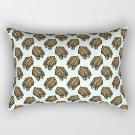 turtles chevron Rectangular Pillow