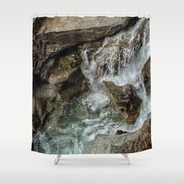 Any Which Way - Glacier NP Shower Curtain