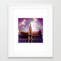 brussels Framed Art Prints featuring Brussels by MAARRS
