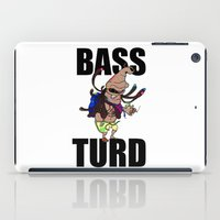 meme iPad Cases featuring BASS TURD MEME GRAPHIC by GENSO