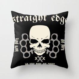 Strage Edge Throw Pillow