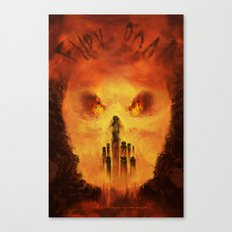 Immortan's Land Canvas Print