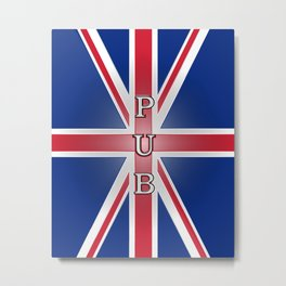 Union Pub Metal Print