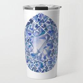 Blue Pear Gem Travel Mug