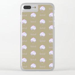 Goldie Cakes Clear iPhone Case