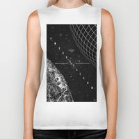 interstellar Biker Tanks featuring Interstellar by Amanda Mocci