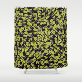 Modern Abstract Interlace Shower Curtain