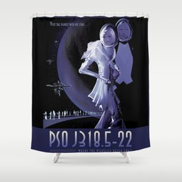 PSO J318.5 22 Shower Curtain