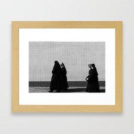 Nuns on the Run Framed Art Print