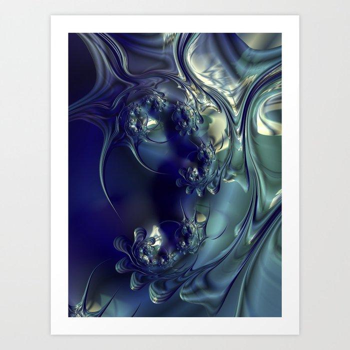 Night Dive #3 Art Print