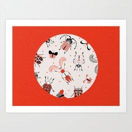 Beasties Art Print