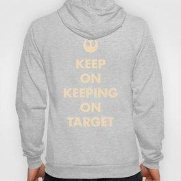 Keep On Keeping On Target (Red) Hoody