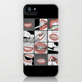 Dentistry horizontal iPhone Case