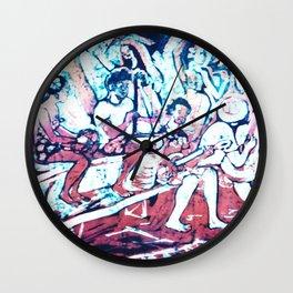 Island Harmony, off Noumea           by Kay Lipton Wall Clock