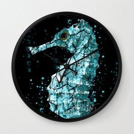 Seahorse Ocean Deep Wall Clock