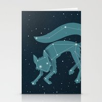 starfox Stationery Cards featuring Star Fox (Vulpes astra) by Sarajea