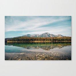 Alberta Reflections Canvas Print