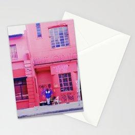 #75Photo #82 #ThisIsAfrica #RedAndBlue #ILoveNewtown #Joburg Stationery Cards